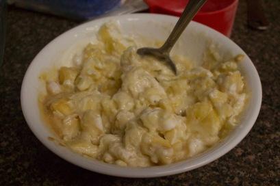 Banana mixture